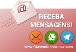 Receba mensagens no seu e-mail ou celular