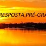 UMA RESPOSTA PRÉ-GRAVADA