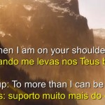YOU RAISE ME UP (PPS com tradução)