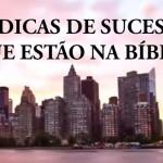 14 DICAS DE SUCESSO QUE ESTÃO NA BÍBLIA